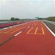 上海普陀区MMA彩色防滑路面施工视频