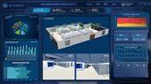 三维可视化温湿度智慧档案库房监控系统